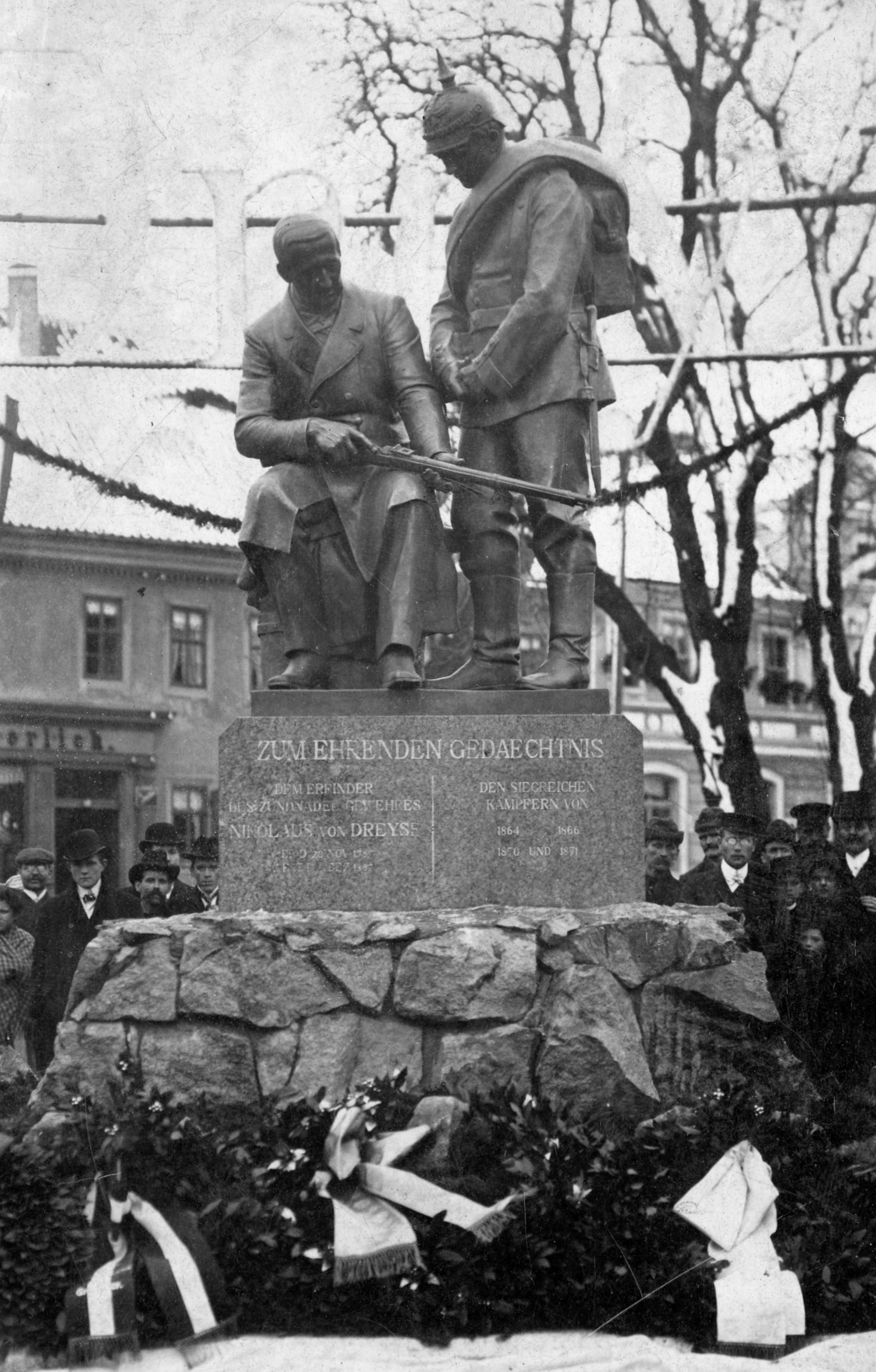 dreyseho pomník