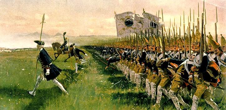 pruska armada utoci